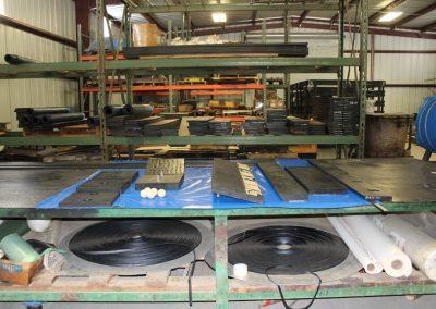 Stockton Rubber Mfg.'s Warehouse - 5,000 square foot warehouse