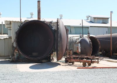 """Autoclave Curing Capability Up to 124"""" diameter and 60 feet long"""